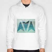 boats Hoodies featuring Boats by Ria*