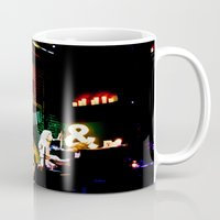concert Mugs featuring Concert at Witzend, Venice by Kim Ramage