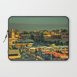 The marketplace of Marrakesh Laptop Sleeve