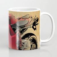 ducati Mugs featuring Ducati 1098 S by Larsson Stevensem