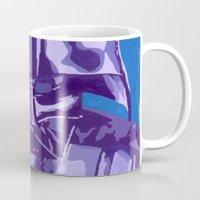vader Mugs featuring Vader by Eddie Frietas