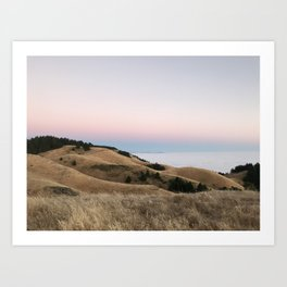 Untitled Sunset #2 Art Print
