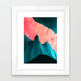 We understand only after Framed Art Print