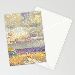 "Henri-Edmond Cross ""Avant L'Orage (La Baigneuse)"" Stationery Cards"