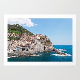 Cinque Terre | Italy City Travel Landscape Coastal Photography Art Print