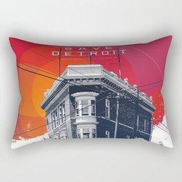 Save Detroit Rectangular Pillow