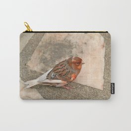 Lovely runaway canary bird Carry-All Pouch