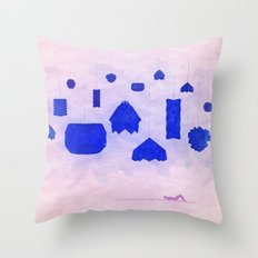Under Origami Skies Throw Pillow