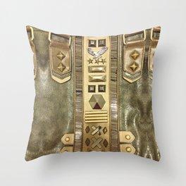 Eagle Leather Fashion Case Throw Pillow