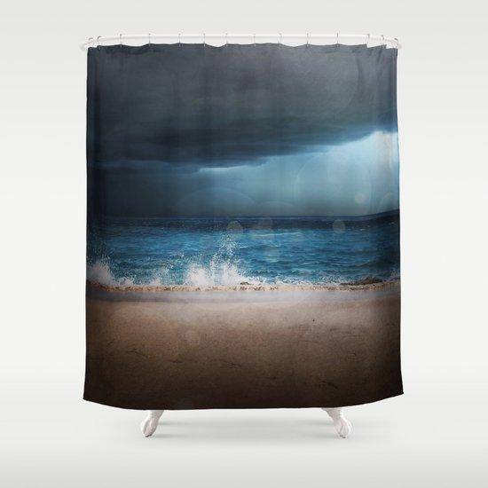 Dark Waters Shower Curtain