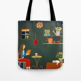 No place like home- Illustration Tote Bag