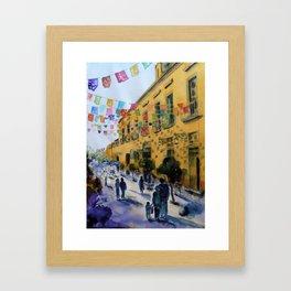 Tlaquepaque Framed Art Print
