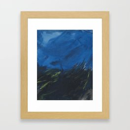Vengeful Shores of the Past Framed Art Print