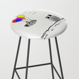 To be a Flying Penguin Bar Stool