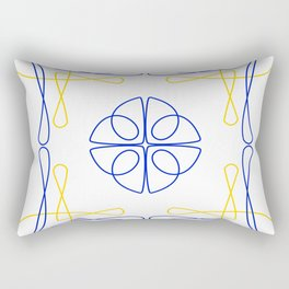 Azulejo Luso Rectangular Pillow