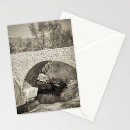 Medieval bridge Stationery Cards