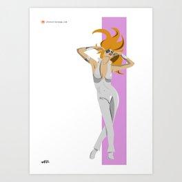 Dazzler Art Print