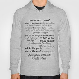 Legally Blonde Musical Quotes Hoody
