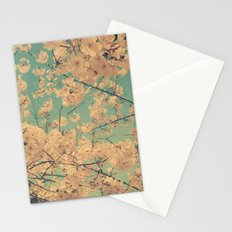 Vintage Cherry Tree in Flower Spring Botanical Stationery Cards
