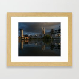 Moody Reflections Framed Art Print