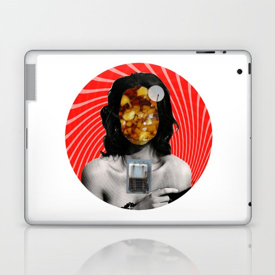 Strange Baby · Crop Circle Laptop & iPad Skin