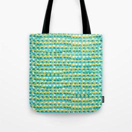Waves blue Tote Bag