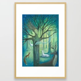 Advice From A Tree Framed Art Print