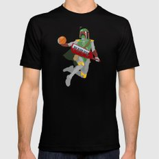 Nothing But Fett Black X-LARGE Mens Fitted Tee