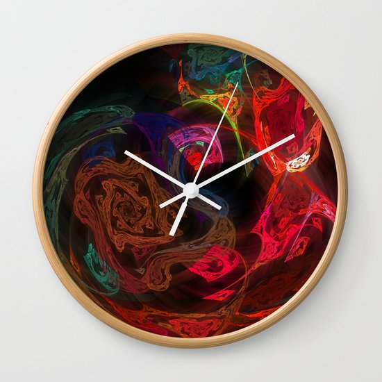 Invisible Walls Wall Clock