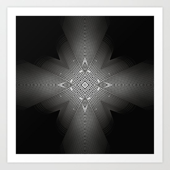 The combination of a situation. Art Print