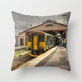 Frome Station Throw Pillow