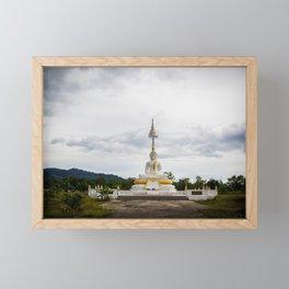 Thailand tempel Khao lak Framed Mini Art Print