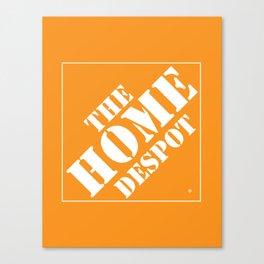 Home Despot Canvas Print