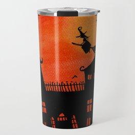 Haunted House Witch Play Travel Mug