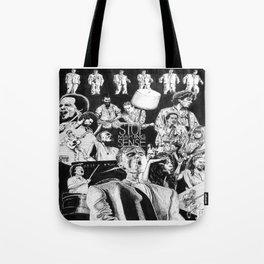 Stop Making Sense Retro Style Movie Poster Tote Bag