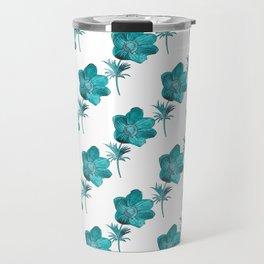 Anemone Watercolor Travel Mug
