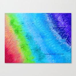 """""""Sign Painter Palette"""" Oil Painting Canvas Print"""