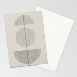 Geometric Composition I Stationery Cards