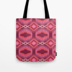 Tribal Red Tote Bag