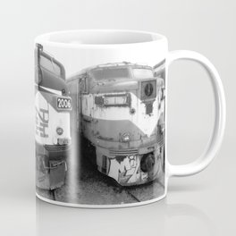 Retired Trains Photography Coffee Mug
