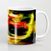 redhead Mugs featuring Redhead by Nev3r