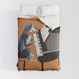Piano lesson with Angel Comforters