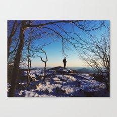 Pulpit Rock, Appalachian Trail Canvas Print