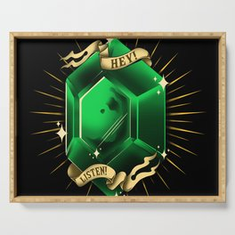 Stay Rupees Serving Tray