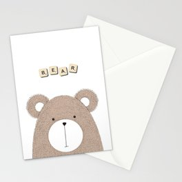 Miss Bear Stationery Cards