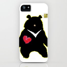 Bear with (V)ictory iPhone Case