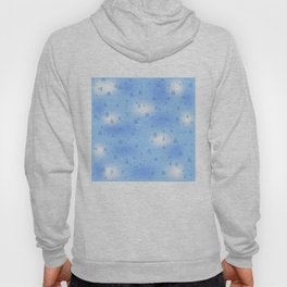 Water dops with sky background Hoody