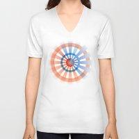 patriotic V-neck T-shirts featuring Patriotic by Chris Cooch