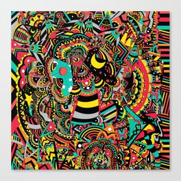 Super Fun Time Canvas Print