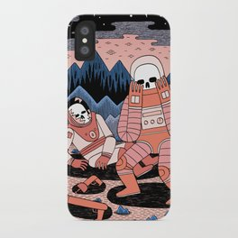 Death in Space II iPhone Case